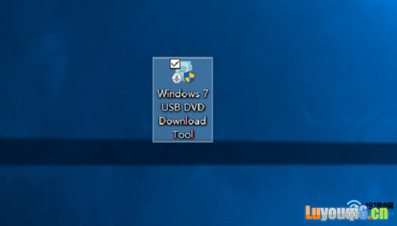 打开Windows7-USB-DVD-Tool软件